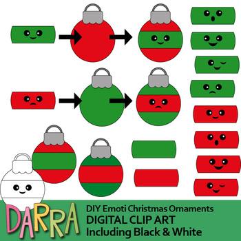 Christmas clip art bundle (Christmas Ornaments, nutcrackers clipart)