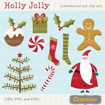 Christmas clip art images, Santa clip art