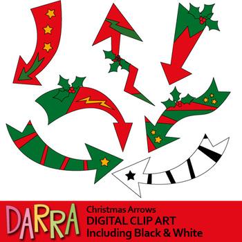 Christmas clipart Arrows