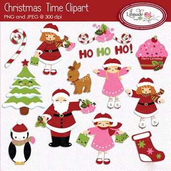 Christmas clipart, Winter clipart,  Christmas kids clipart