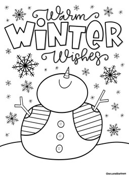 Christmas coloring page bundle 2 by Mrs Arnolds Art Room | TpT