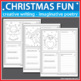 Christmas Coloring Pages - Cards and Writing Activities