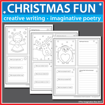 Christmas Coloring Pages - Art and Writing Activities