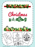 Christmas coloring worksheets