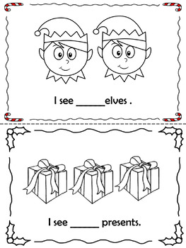 Christmas counting Booklet (Freebie)