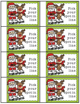 Christmas coupon book for students gift