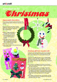 Christmas craft ideas and classroom activity FREEBIE