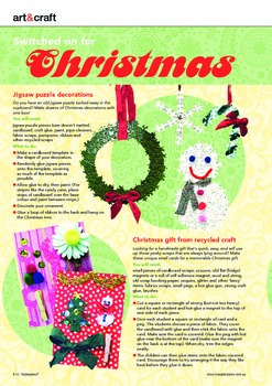 Christmas craft ideas and classroom activity FREEBIE