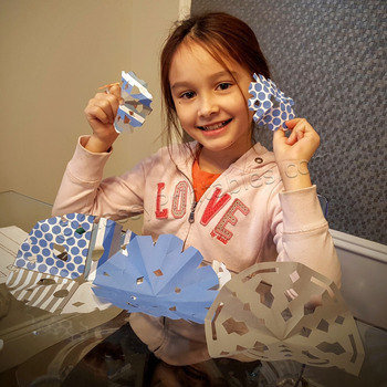 Winter crafts activities snowflake cut outs and coloring pages