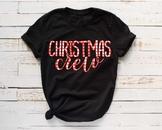 Christmas crew plaid svg, christmas svg, family svg Buffalo plaid 1063s