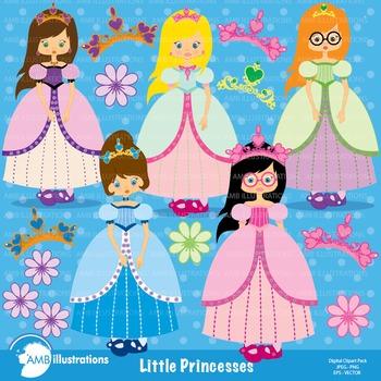 Clipart, Princess clipart, Little Princess clip art AMB-201