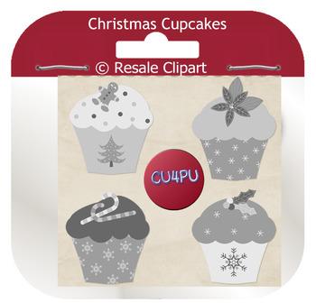 Christmas cupcakes 1