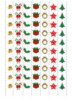 Christmas cutting exercise