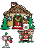 Christmas cvc words, beginning sounds, SH and TH digraphs,
