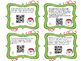 Christmas division word problem task cards with QR codes 2