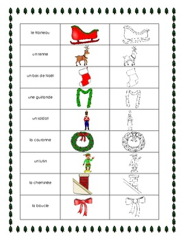 Christmas en français