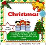 Christmas en una semana (Libro de actividades de Navidad para enseñar inglés)