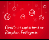 Christmas expressions in Brazilian Portuguese