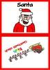 Christmas flashcard set