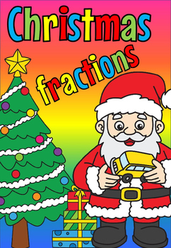 Christmas fractions (FREE- FEEDBACK CHALLENGE)