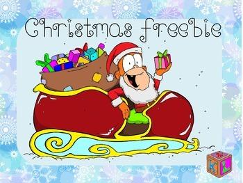 Christmas freebie