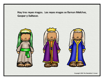 Los Reyes Magos - Picture Story