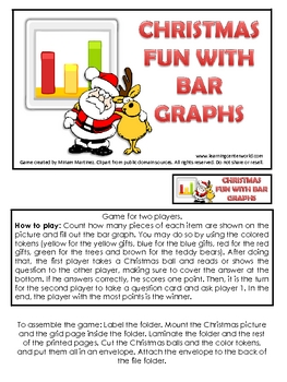 Christmas fun with bar graphs.