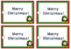 Christmas gift tags for student gifts