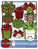 Christmas gifts clipart