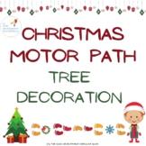 Christmas gross motor play tree decoration motor path