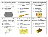 Christmas holiday cooking activity: context clues and reasoning