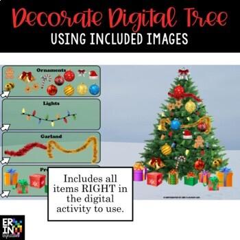iPad Christmas Activities for Math & Writing