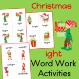 Christmas ight Word Work Activities
