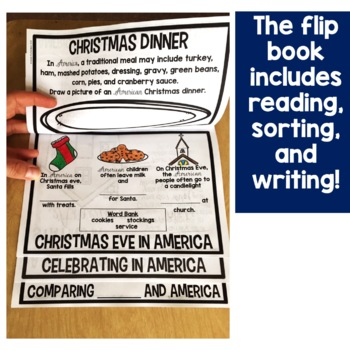 Christmas in America Flip Up Book