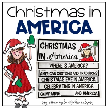 Christmas in America Flip Up Book