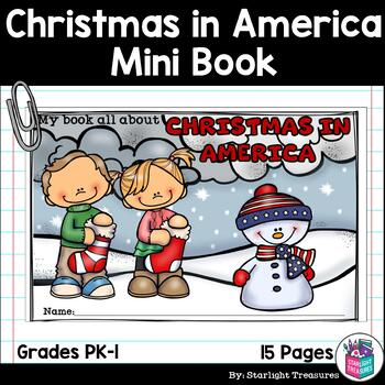 Christmas In America Book.Christmas In America Mini Book For Early Readers Christmas Activities
