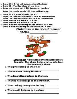 Christmas in America Packet