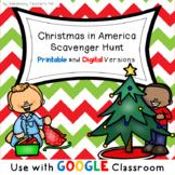 Christmas in America Scavenger Hunt