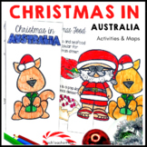Christmas Around the World ** Australia ** Maps, Flags, In