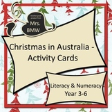 Christmas in Australia Activity Cards - literacy, numeracy, art and craft