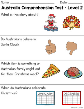 Christmas In Australia Date.Christmas In Australia Adapted Books Christmas Around The World Readers