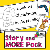 Christmas in Australia Emergent Reader and Activities: Hol