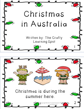 Christmas in Australia Fun Pack