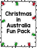 Christmas in Australia Fun Pack