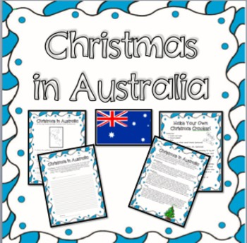 Christmas in Australia -  Informational Text, Questions, and Fun Activities!