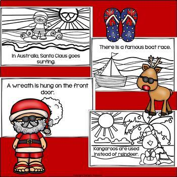 Christmas in Australia Mini Book for Early Readers - Christmas Activities