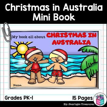 Christmas In Australia Book.Christmas In Australia Mini Book For Early Readers Christmas Activities