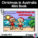 Christmas in Australia Mini Book for Early Readers - Chris