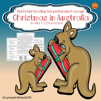 Christmas in Australia: Non-fiction Reading Comprehension