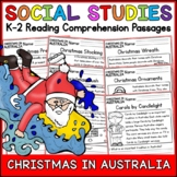 Christmas in Australia Reading Comprehension Passages K-2